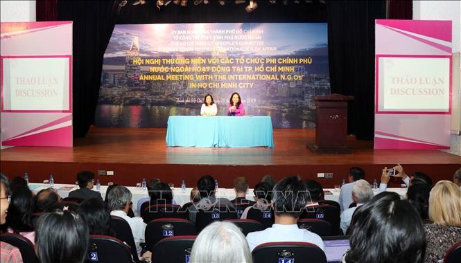 Tạo mọi điều kiện để chương trình, dự án của các tổ chức phi chính phủ nước ngoài triển khai thành công - ảnh 1