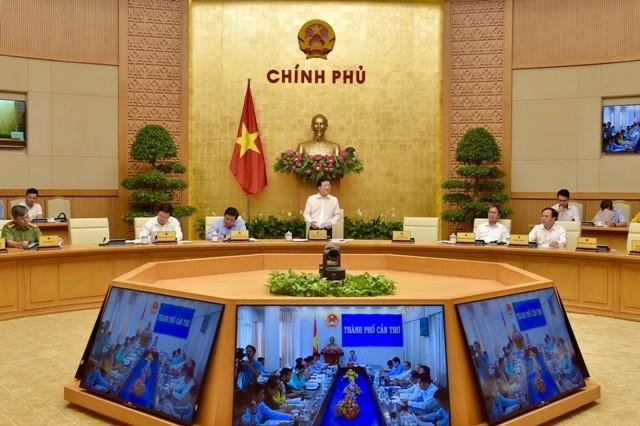 Hội nghị trực tuyến toàn quốc về triển khai thi hành Luật Quy hoạch - ảnh 1