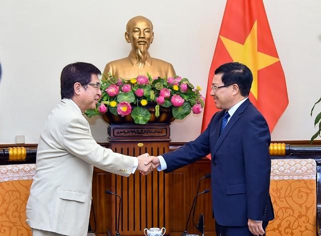 Nhật Bản coi trọng và mong muốn tăng cường hợp tác với Việt Nam - ảnh 1