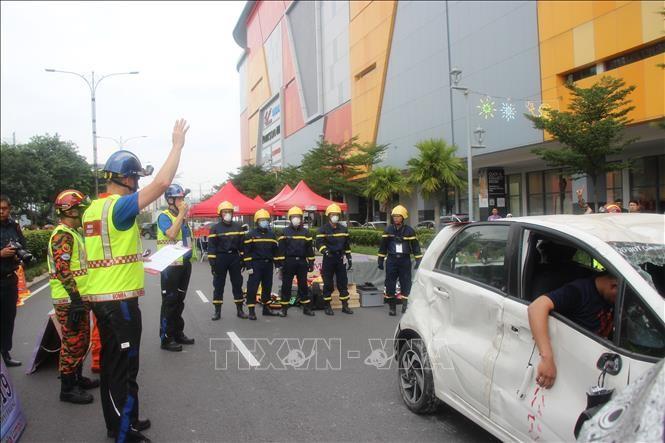 Việt Nam tham gia thi cứu hộ cứu nạn tại Malaysia - ảnh 1