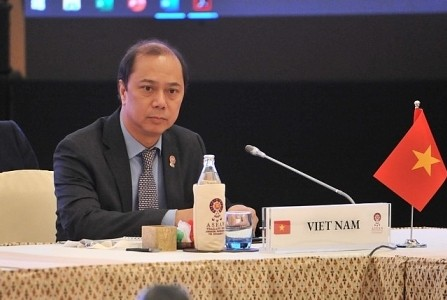 Trưởng SOM ASEAN Việt Nam Nguyễn Quốc Dũng: Vấn đề Biển Đông thu hút sự quan tâm tại AMM - 52 - ảnh 1