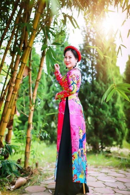 """Hoa hậu Áo dài phu nhân người Việt toàn Châu Âu Đặng Bích Lan: Mang """"Giấc mơ Nàng"""" để tôn vinh vẻ đẹp người phụ nữ Việt - ảnh 1"""
