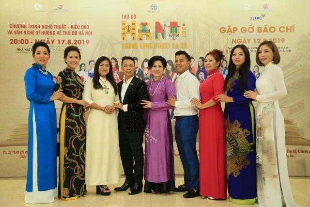 Chương trình nghệ thuật Kiều bào và văn nghệ sĩ hướng về Thủ đô sẽ diễn ra ngày 17/8 tại Nhà hát lớn Hà Nội - ảnh 5