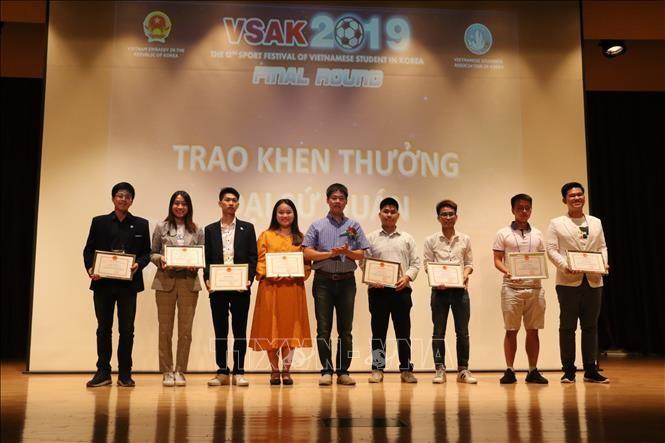Đại hội thể thao SFVSAK12 - sân chơi gắn kết du học sinh Việt Nam tại Hàn Quốc - ảnh 2