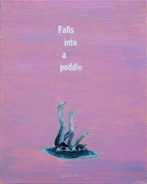"""Triển lãm """"Rơi vào đường chân trời"""" của nghệ sĩ Quách Bắc - ảnh 1"""