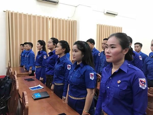 Khai giảng Lớp bồi dưỡng về công tác thanh niên cho cán bộ Đoàn Thanh niên Nhân dân cách mạng Lào - ảnh 1