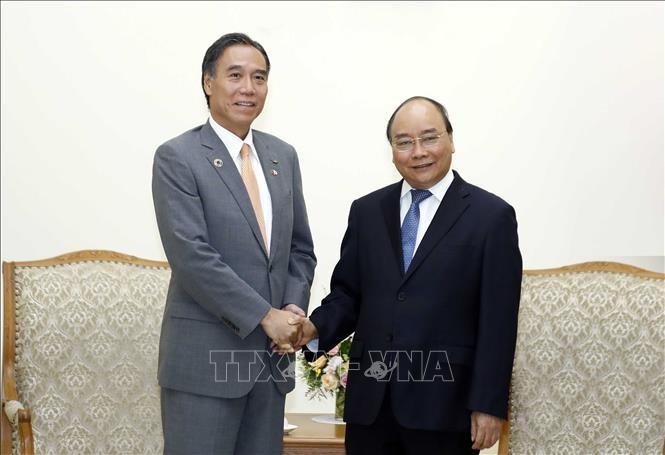 Thủ tướng Nguyễn Xuân Phúc tiếp ông Abe Shuichi, Thống đốc tỉnh Nagano (Nhật Bản) - ảnh 1