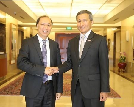 Tham khảo chính trị Việt Nam - Singapore lần thứ 12 - ảnh 1