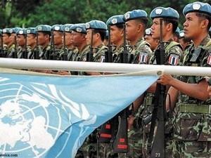 Pasukan penjagaan perdamaian PBB memulai misinya di Mali - ảnh 1