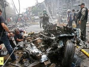 Serangan bom di Thailand Selatan - ảnh 1