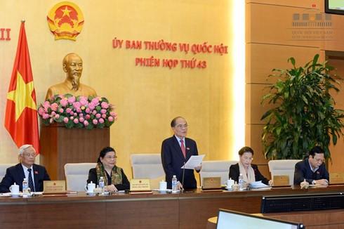 Persidangan ke-44 Komite Tetap MN Vietnam dibuka - ảnh 1