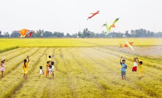 Hobi main layang - layang dari orang Vietnam - ảnh 3