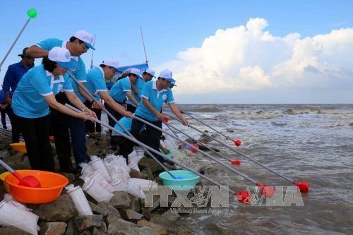 """Rapat umum menyambut  """"Pekan laut dan pulau Vietnam tahun 2017"""" - ảnh 1"""