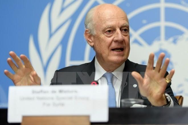 Utusan Istimewa PBB datang ke Rusia untuk berbahas tentang situasi di Suriah - ảnh 1
