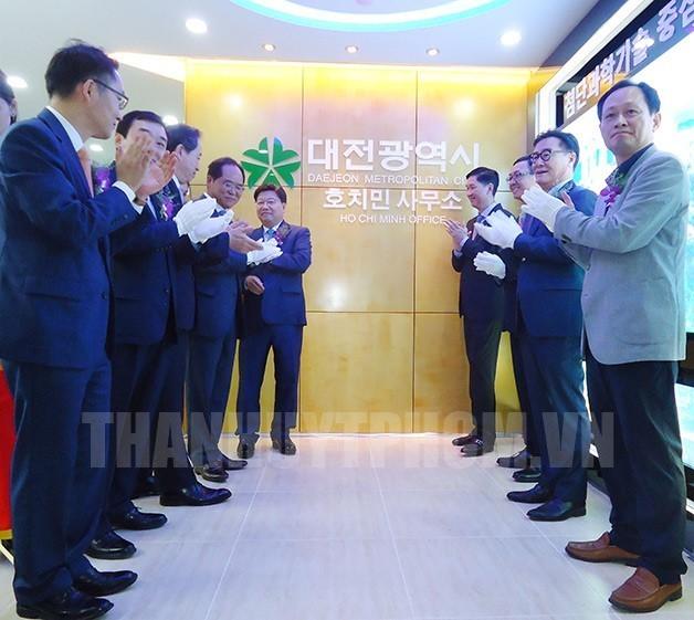 Kota Ho Chi Minh memperhebat kerjasama dengan kota Daejeon, Republik Korea - ảnh 1