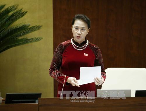 MN Vietnam mengakhiri tiga hari interpelasi dan jawaban interpelasi terhadap para anggota Pemerintah - ảnh 1