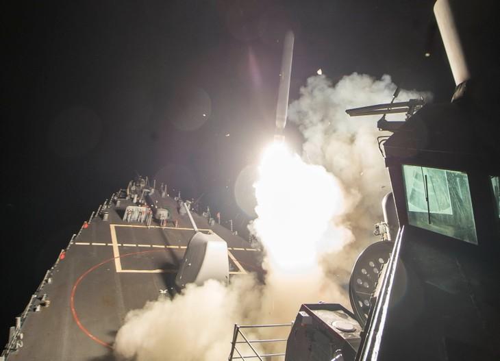 Rusia menyerang semnua sasaran IS di Suriah - ảnh 1