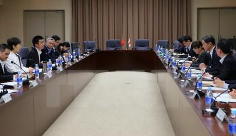 Tiongkok dan Jepang melakukan Perundingan ke-18 tingkat Deputi Menteri Perdagangan - ảnh 1