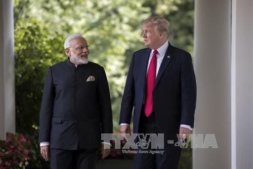 Gedung Putih menilai pertemuan puncak AS-India bersifat sejarah - ảnh 1