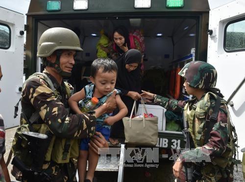 Filipina menegaskan tidak berunding dengan pasukan pembangkang Islam - ảnh 1