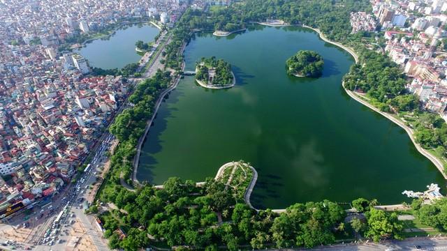 Memperkenalkan sepintas lintas tentang danau-danau di ibukota Hanoi - ảnh 3