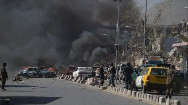 Serangan bom mobil di Ibukota Kabul mengakibatkan banyak korban - ảnh 1