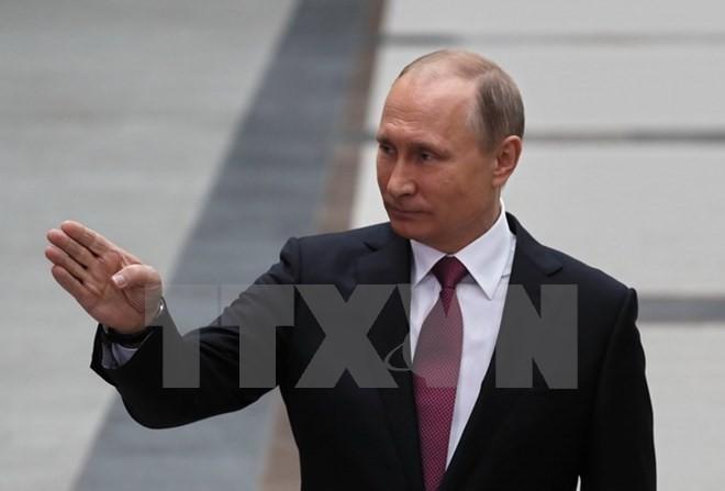 Presiden  Rusia, V.Putin memprotes RUU mengenai pengenaan sanksi baru terhadap Rusia - ảnh 1