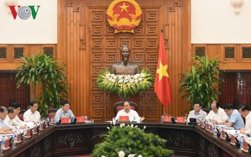 PM Vietnam, Nguyen Xuan Phuc membimbing semua solusi untuk mempercepat pengucuran modal ODA dan modal pinjaman prioritas - ảnh 1