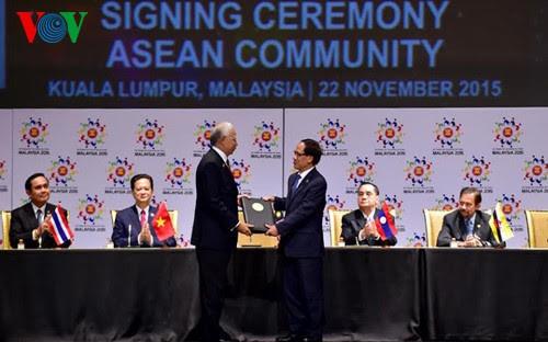 ASEAN-50 tahun musyawarah dan mufakat untuk berkembang - ảnh 5