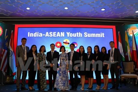 Konferensi tingkat tinggi pemuda India-ASEAN dibuka di Bhopal, India  - ảnh 1
