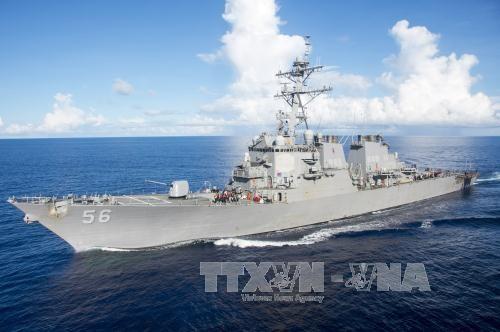 Malaysia  melakukan investigasi  istimewa terhadap kasus tabrakan   antara kapal perusak  AS dengan kapal kargo - ảnh 1