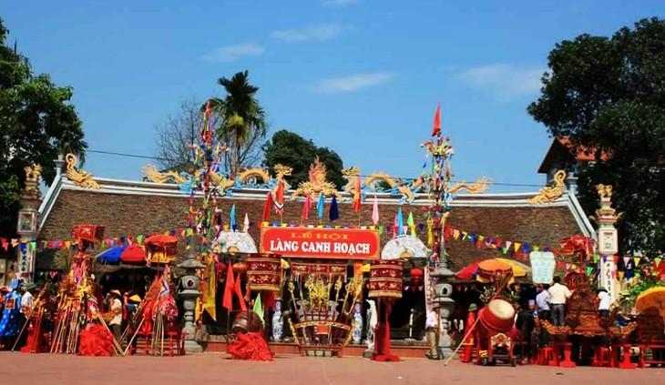 Canh Hoach- Desa yang mempunyai dua  orang Trang Nguyen - ảnh 1