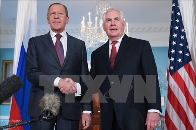 Menlu Rusia dan AS melakukan pembicaraan telepon tentang masalah nuklir Iran dan RDRK - ảnh 1