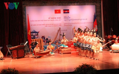 Pekan Kebudayaan Kamboja di Vietnam tahun 2017 berlangsung dari 8-11/11 - ảnh 1