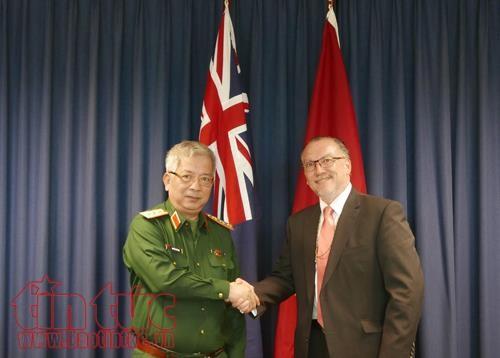 Dialog Pertama Politik Pertahanan Vietnam-Australia - ảnh 1