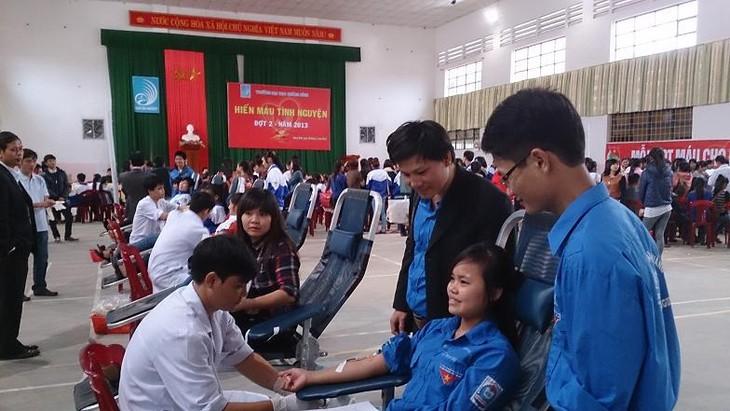Gerakan pemberian donor darah di Vietnam  - ảnh 1