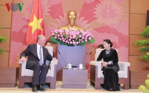 Perusahaan Deloitte Global berkomitmen akan  membantu Vietnam di bidang pemeriksaan keuangan - ảnh 1