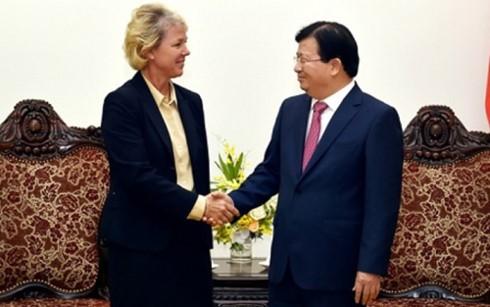 Grup Siemens, Jerman ingin memperluas aktivitasnya di Vietnam - ảnh 1