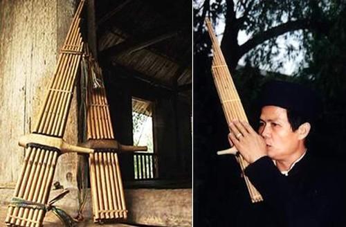 Kekhasan seruling rakit Muong Lo dari warga etnis minoritas Thai - ảnh 1