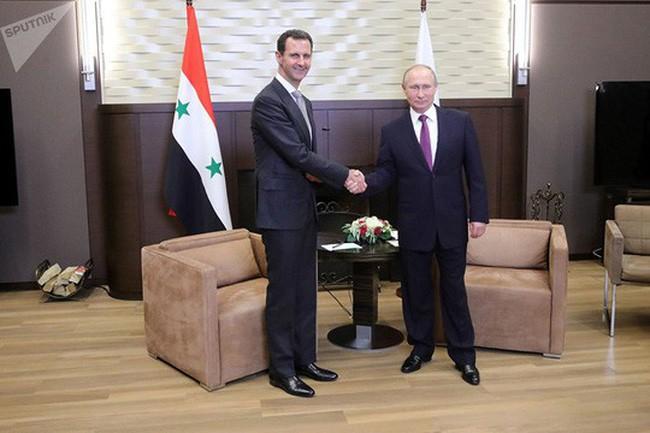 Presiden Suriah dan Presiden Rusia berbahas tentang proses menghentikan bentrokan di Suriah - ảnh 1