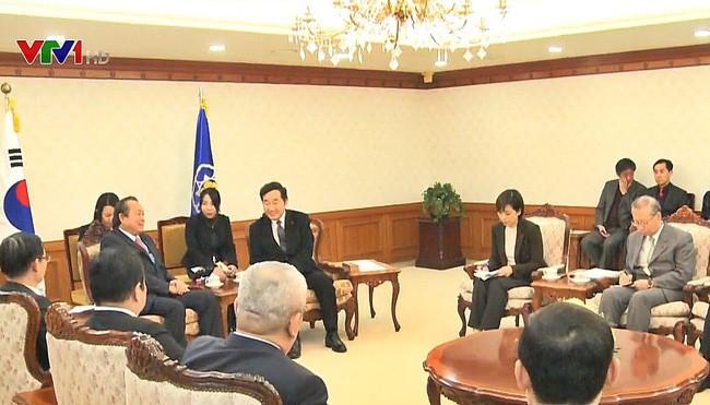 Mendorong hubungan kerjasama komprehensif Vietnam-Republik Korea - ảnh 1
