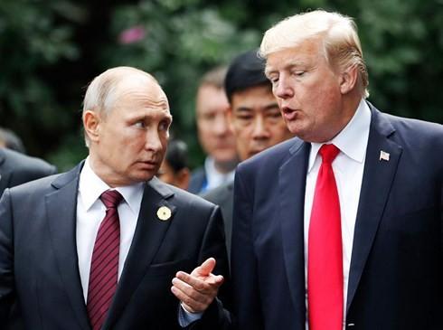Presiden Rusia dan AS berbahas tentang banyak masalah internasional yang panas - ảnh 1