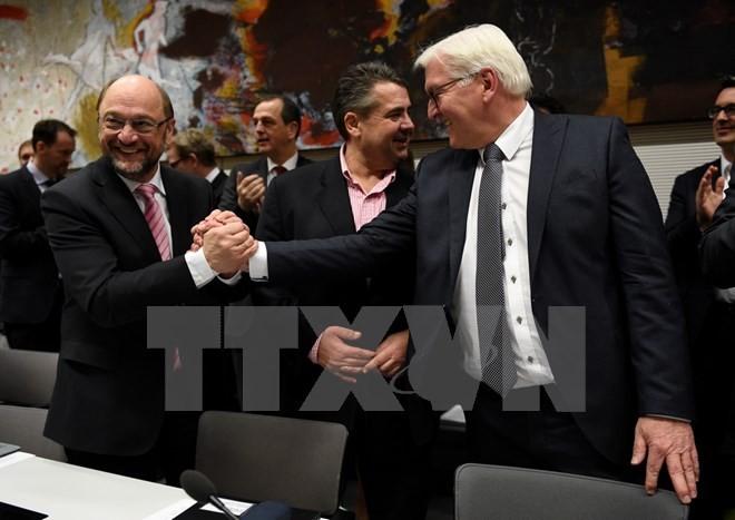 Jerman : Partai SPD bersedia ikut dalam perundingan dengan koalisi partai CDU/CSU - ảnh 1