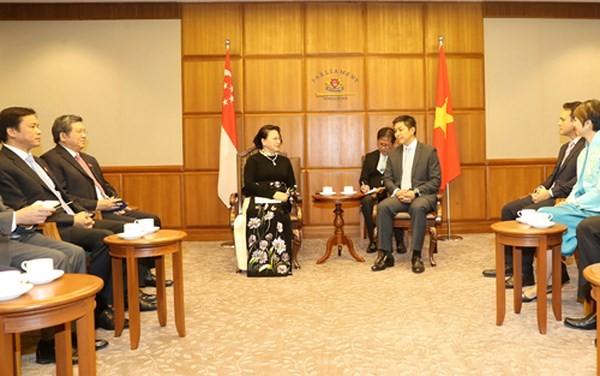 Membawa hubungan Kemitraan Strategis Vietnam-Singapura berkembang  secara kondusif dan berhasil-guna - ảnh 1