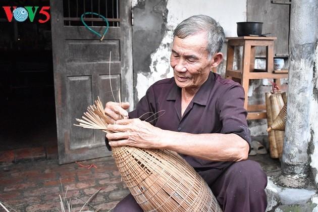 Thu Sy- Desa membuat bubu yang sudah berusia lebih dari 200 tahun di propinsi Hung Yen - ảnh 2