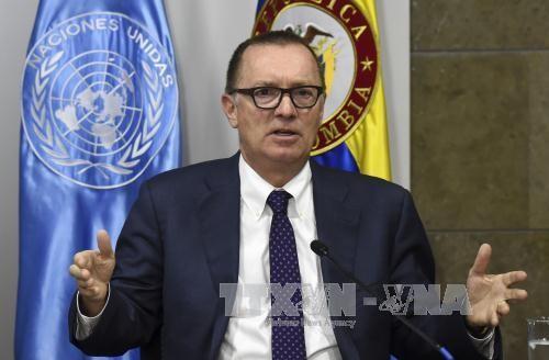 Wakil Sekjen PBB melakukan pembicaraan dengan Menlu RDRK - ảnh 1