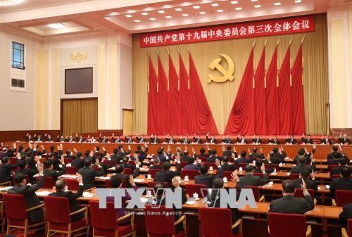 Sidang Pleno ke -3 Komite Sentral Partai Komunis Tiongkok berakhir - ảnh 1