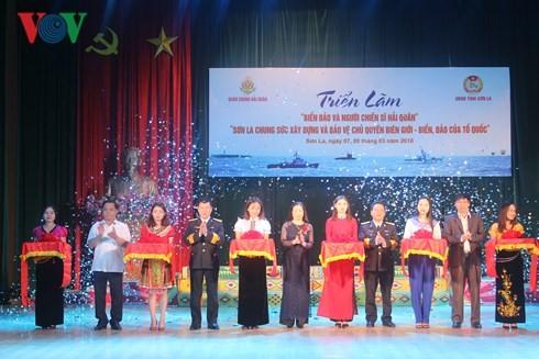 Provinsi Son La membuka Pameran lukisan dan foto tentang laut dan pulau Vietnam - ảnh 1