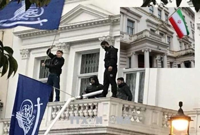 Iran meminta kepada Inggris supaya memecahkan kasus penyusupan tidak sah terhadap Kedubes Iran  - ảnh 1