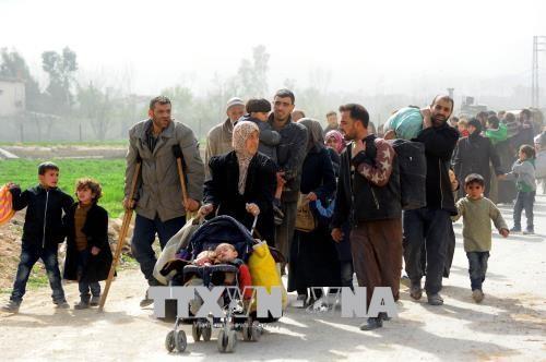 Dewan Keamanan PBB mendesak segera melakukan gencatan senjata di Suriah - ảnh 1